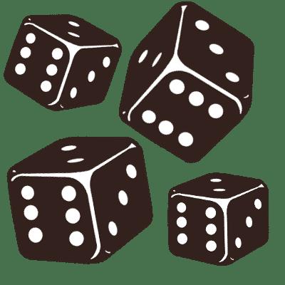 Finde Spiele für drei bis vier Spieler